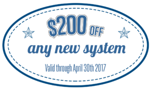 $200 off air conditioning system coupon