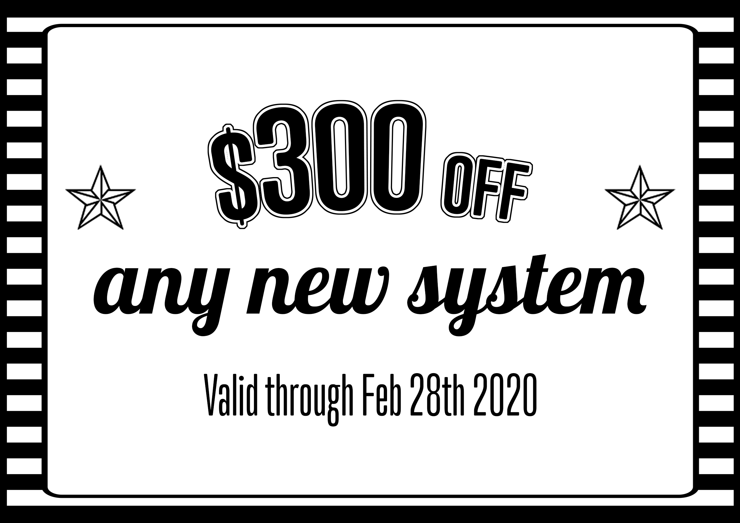 $300 Off New AC system