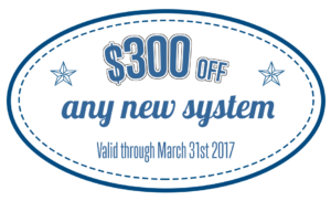 $300 off air conditioning system coupon