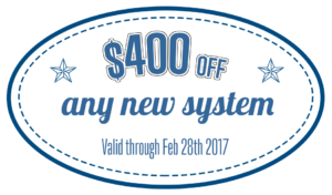 $400 off air conditioning system coupon
