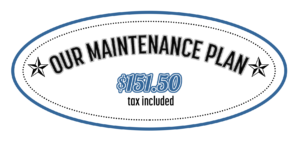 Our Maintenance Plan