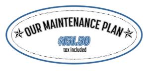 Our Maintenance Plan