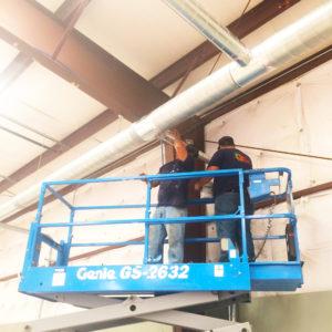 Commercial workshop contracting